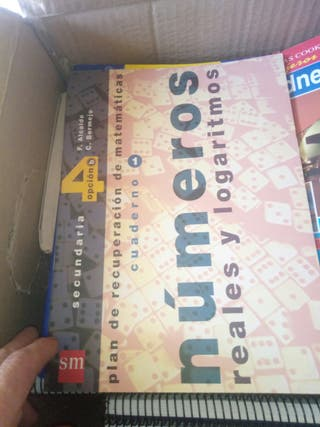 libros de matematicas sm