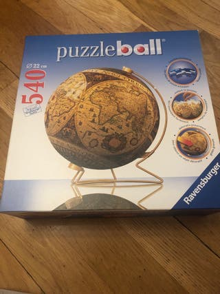 PuzzleBall del Mapa Mundi