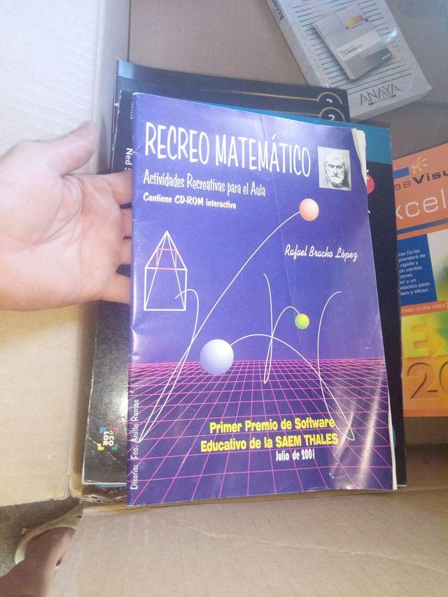 libro recreo matematico