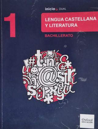 Libro Lengua Castellana y Literatura 1º de Bach