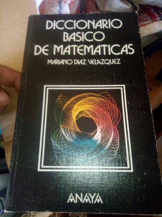 diccionarios basicos de matematicas