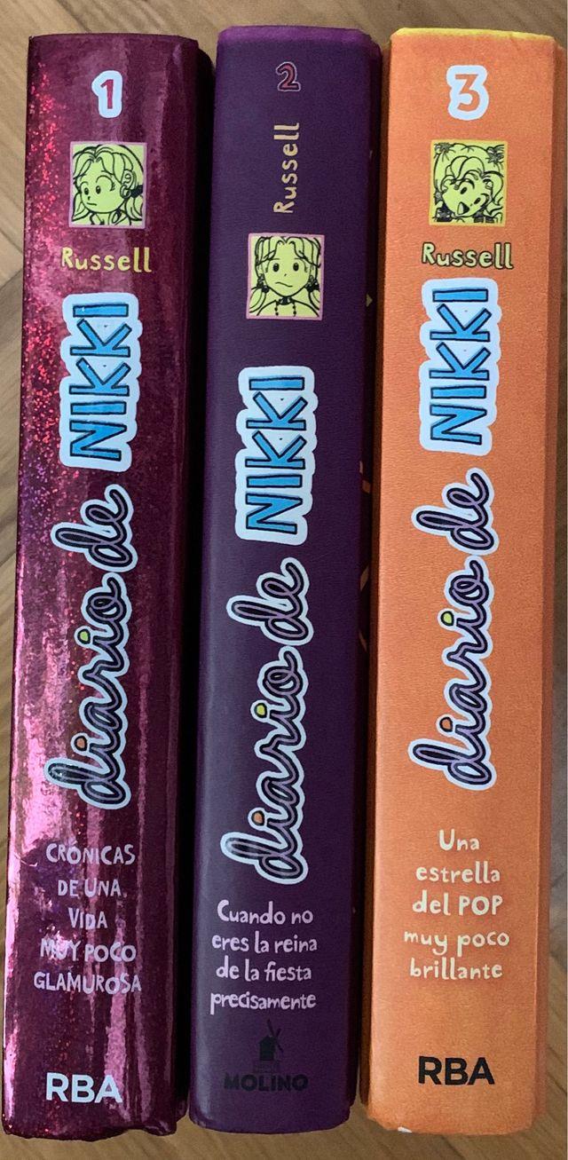Libros El Diario de Nikki del 1 al 3