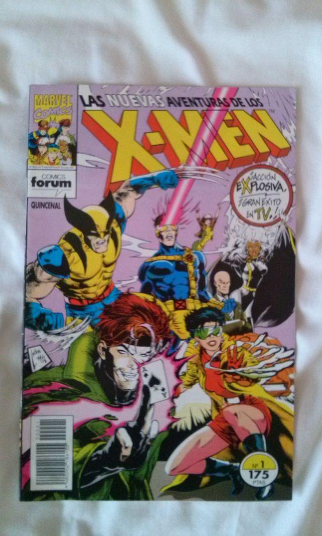 Las Nuevas Aventuras de los X-Men #1