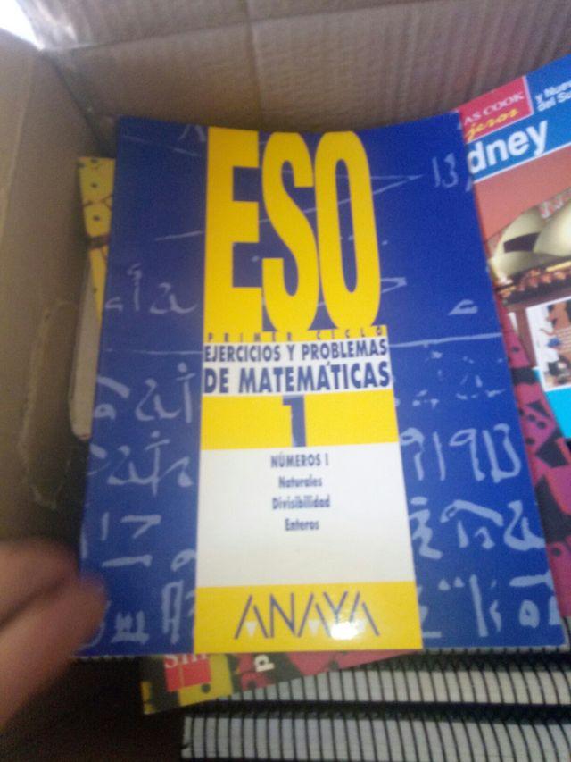 libro matematicas primerl eso