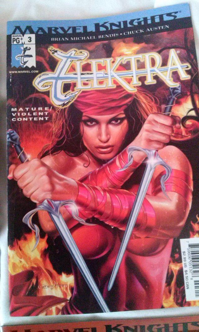 Marvel Knights Elektra 1 a 6