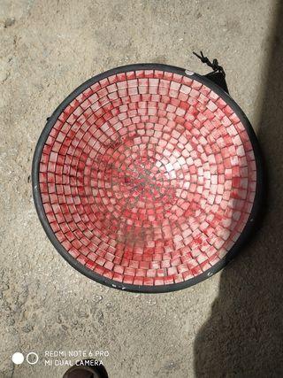 plato de cerámica vintage en buen estado
