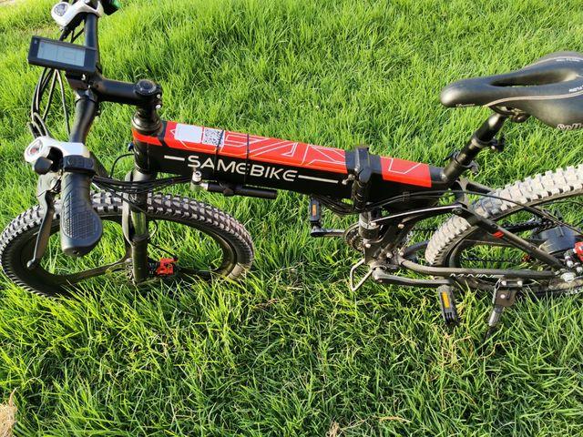 bicicleta eléctrica plegable 26 pulgadas