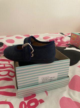 Zapatos con suela