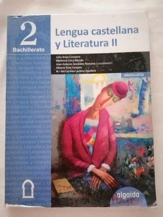 libro de lengua y literatura 2°Bach