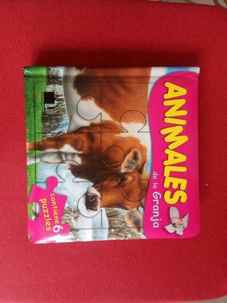 Libro puzzles infantil