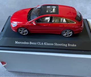 MERCEDES CLA SHOOTING BRAKE(c117) escala 1:43