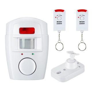 Alarma con sensor Infrarojo detector movimientos