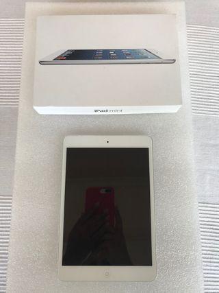 IPAD MINI WI-fi + CELLULAR 64GB blanco/gris