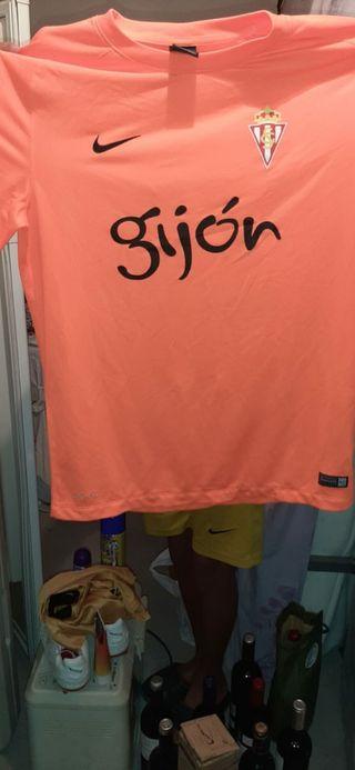 camiseta esporting de Gijón