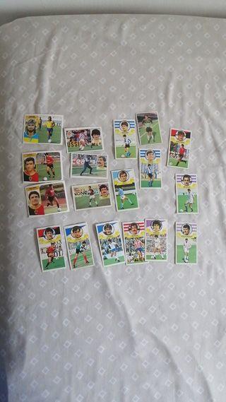 Lote 46 cromos futbol