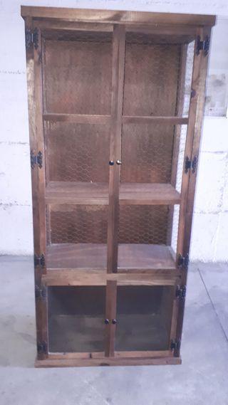 Mueble alacena rustico