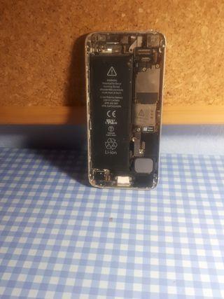 placa base bateria y tapa iphone 5s