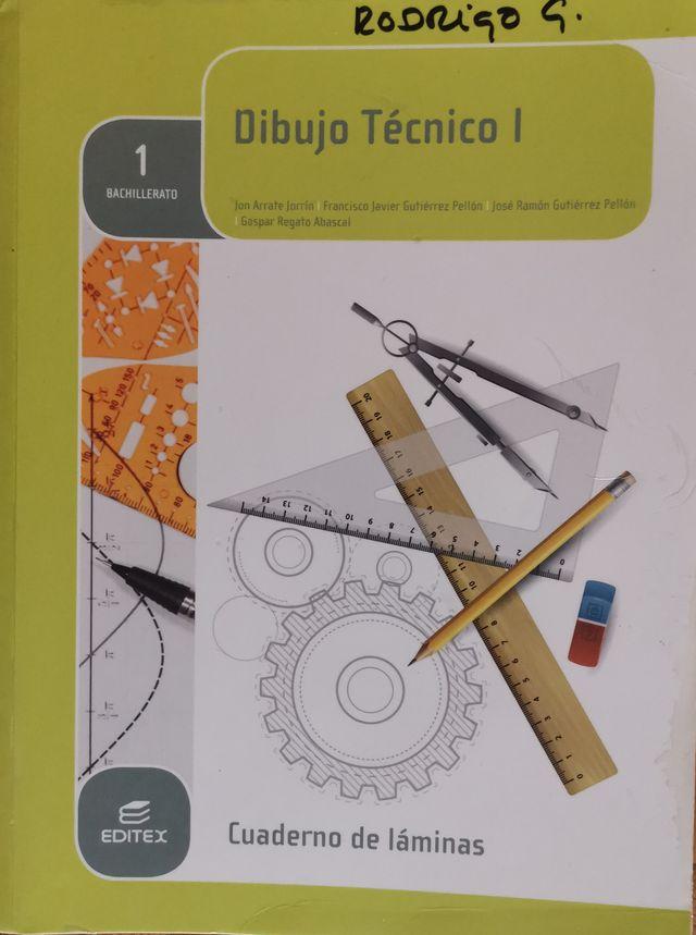 Libro de texto Dibujo Técnico cuaderno láminas