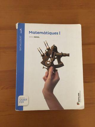 Libro matemáticas primero de bachillerato