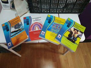 Colección libros natación RFEN