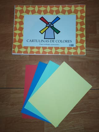 Juego de Cartulinas de colores