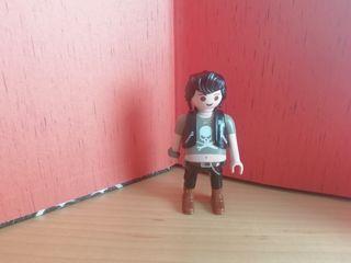 Figura Playmobil. Rockabilly.