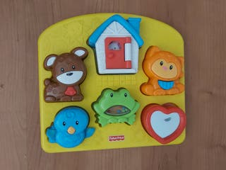 Puzzle infantil Fisher Price