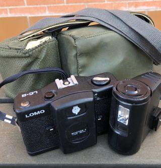 Cámara fotos Lomo LC-A Minitar 1 con flash