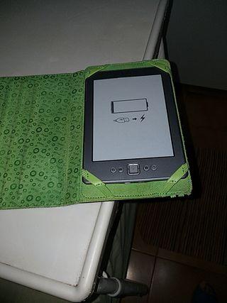 libro electronico con libros