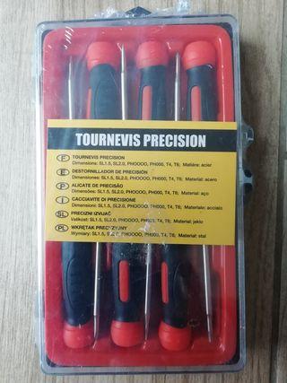 Destornilladores de precisión