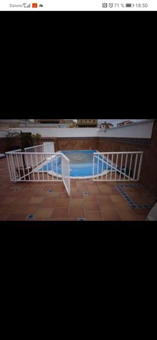 valla de piscina/jardín
