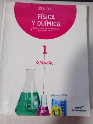 libro Física y Química 1 bachillerato Anaya