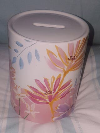 Floral Money Bank