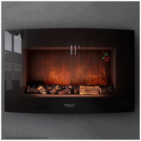 CHIMENEA CECOTEC READY WARM 3500 CURVED FLAMED