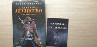 La leyenda del hechicero (+manual), Taran Matharu