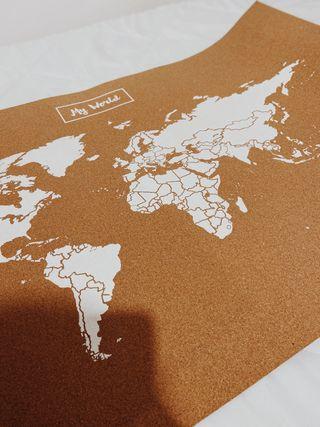 Mapa decoración Miss Wood