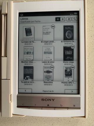 Libro electrónico Sony PRS T1 Blanco (nuevo)
