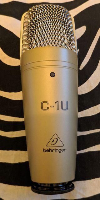 Micrófono Behringer C-1U