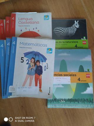 libros 4 (cuarto) primaria