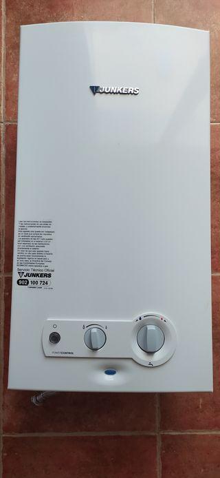 Calentador gas JUNKERS automatico