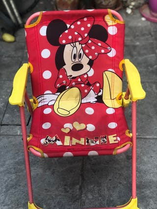 Silla plegable minnie