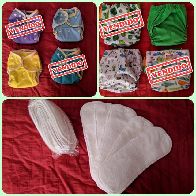 Pack pañales de tela