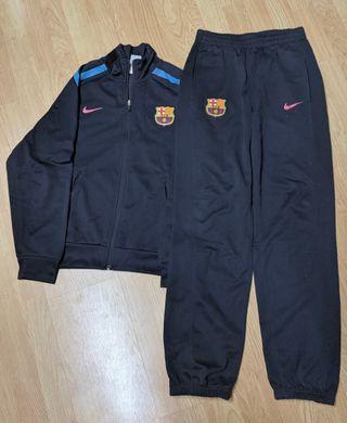 Chándal FC Barcelona.