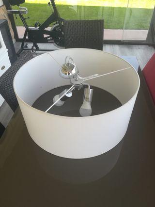 1 Lámpara blanca