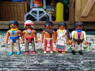 Playmobils de indios