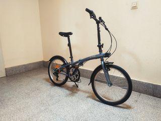 bici plegable de 6 Velocidades