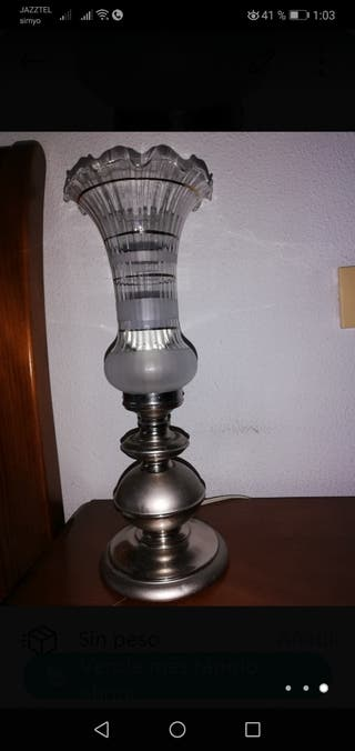 2 Lámparas mesillas de noche