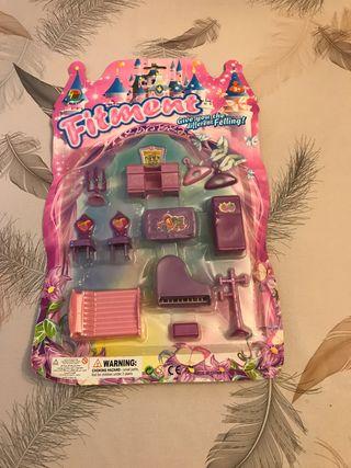 Set de muebles de juguete