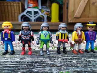 Playmobils de caballeros