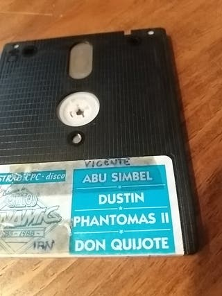Juegos y disketes de CPC Amstrad 6128